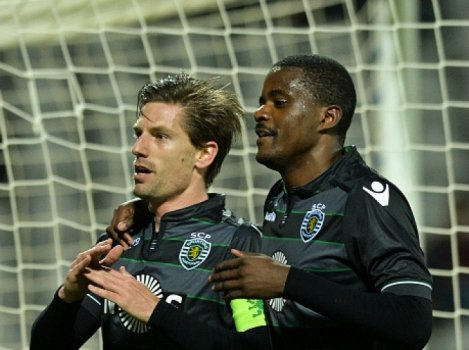 Adrien Silva e William Carvalho - Sporting