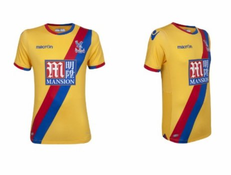 10. Crystal Palace: segundo uniforme