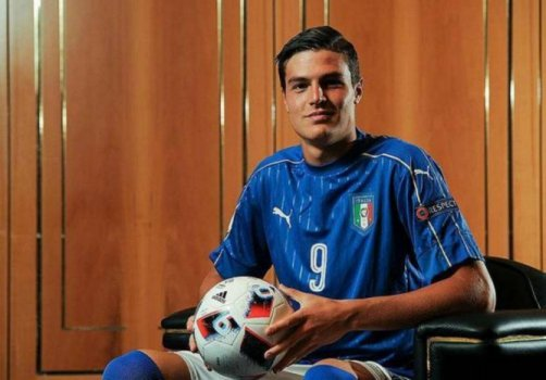 Andrea Favilli, de 19 anos, na mira do Real Madrid