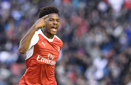 Akpom - Arsenal x Manchester City
