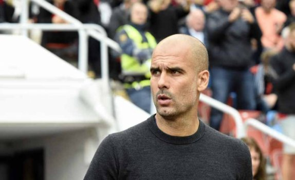 Guardiola - Arsenal x Manchester City