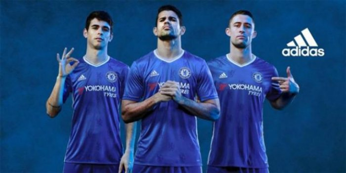 Camisa titular do Chelsea