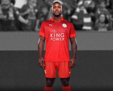Camisa reserva do Leicester