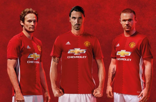Camisa titular do Manchester United