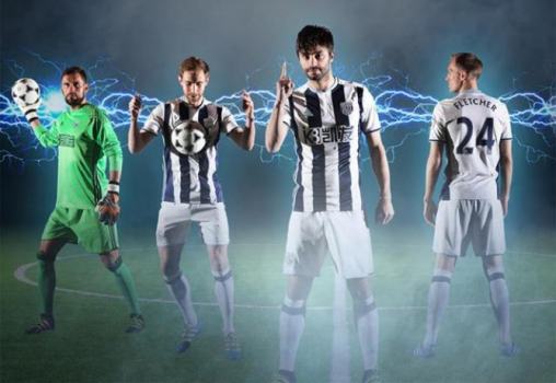 Camisa titular do West Bromwich
