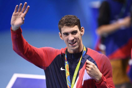 Michael Phelps (Foto:AFP)