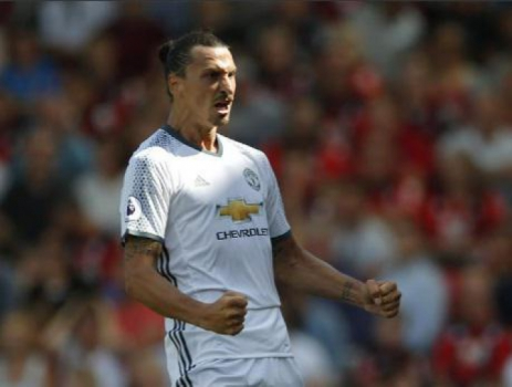 Gol do Ibrahimovic - United