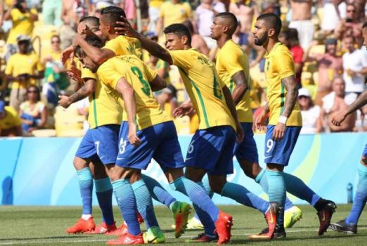Brasil x Honduras - Futebol 37834b6de3791