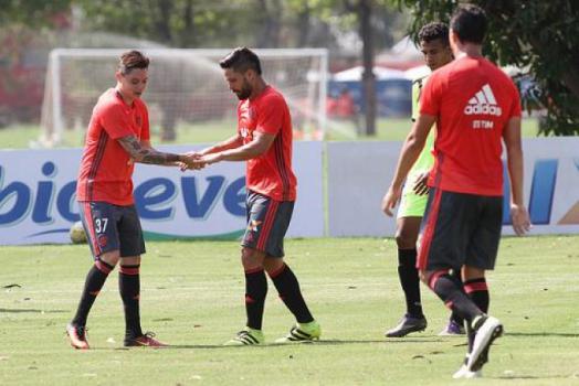 Flamengo terá a estreia de Diego contra o Grêmio (Gilvan de Souza / Flamengo)