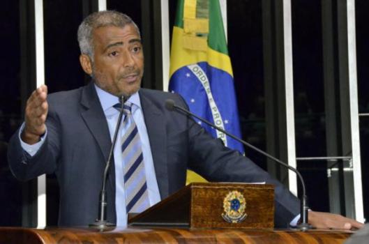 Romário, embaixador do Movimento Paralímpico Brasileliro