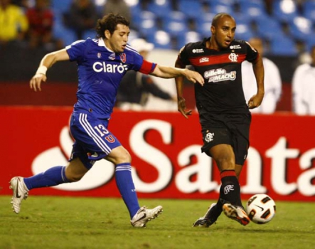 Flamengo 0x4 Universidad de Chile - 19/10/2011