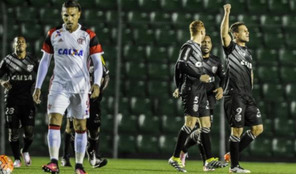 Rafael Moura - Figueirense x Flamengo
