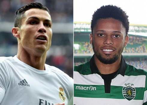 Cristiano Ronaldo (Real Madrid) x André (Sporting)