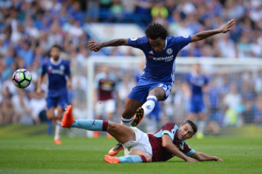 Willian - Chelsea x Burnley