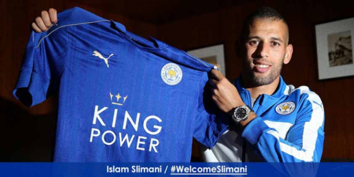 Slimani - Leicester