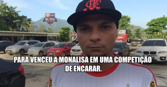 Torcedores do Flamengo criam 'Pará Facts'