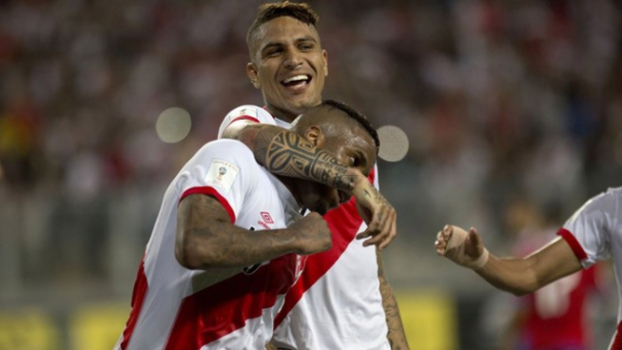 Peru 3x4 Chile, do dia 13/10/2015