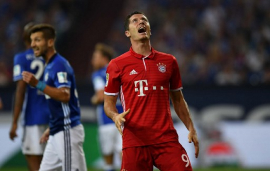 Lewandowski - Schalke 04 x Bayern de Munique
