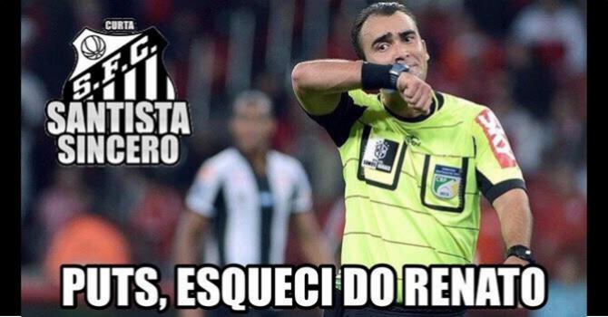 Os melhores memes da vitória do Santos sobre o Corinthians  53cf6f0043469
