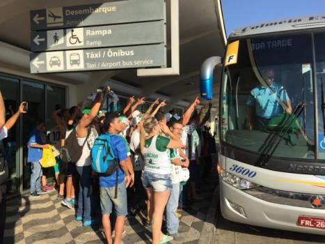 Desembarque do Palmeiras