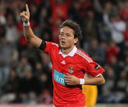 Keirrison no Benfica
