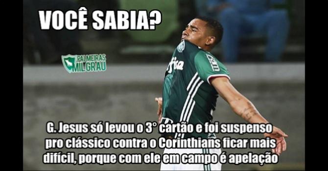 Corintianos sofrem com as gozações após derrota para o Palmeiras ... c041dc7915464