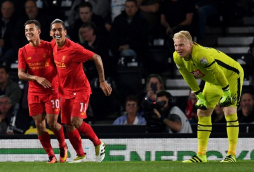Gol Philippe Coutinho - Derby County x Liverpool