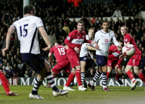 Middlesbrough x Tottenham - 2009