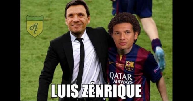 Luis Zénrique e o seu craque