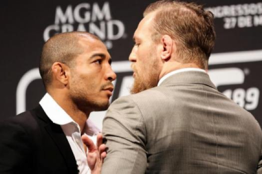 José Aldo e Conor McGregor - UFC Fight Night RJ