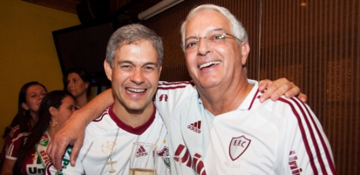 Celso Barros e Peter Siemsen