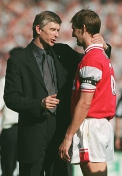 Tony Adams e Wenger