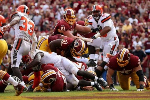 Cleveland Browns x Washington Redskins