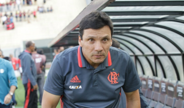 Zé Ricardo - Flamengo x Santa Cruz