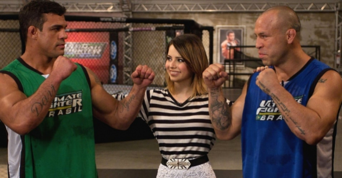 Participou do primeiro The Ultimate Fighter Brasil contra o rival Wanderlei Silva