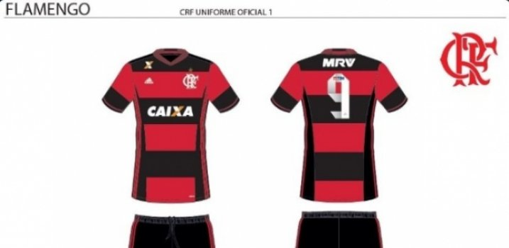 Uniforme do Fla com MRV