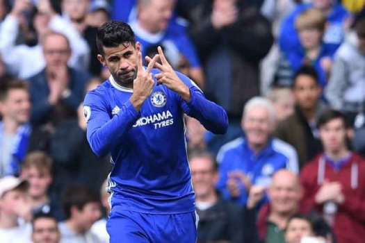 Diego Costa - Chelsea x Leicester