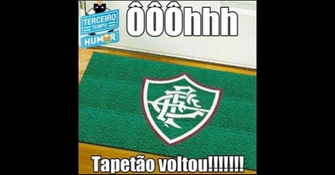 Fluminense não escapou das gozações dos rivais