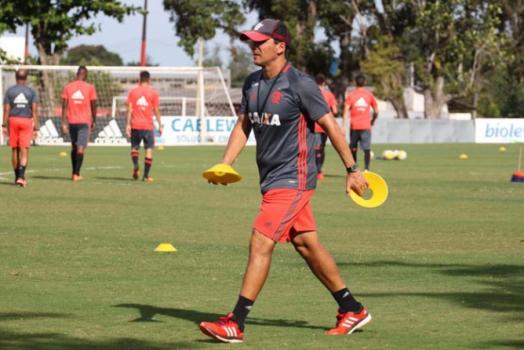 Treino Flamengo - Zé Ricardo