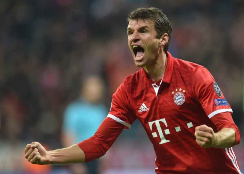 Muller - Bayern de Munique x PSV