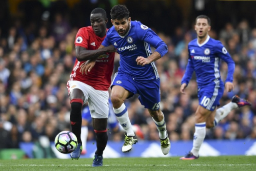 Diego Costa e Bailly - Chelsea x Manchester United