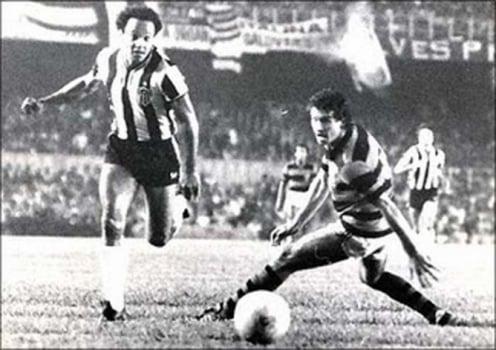 Resultado de imagem para flamengo atletico 1981 estreia 2x2