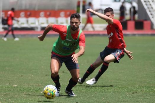 Treino Flamengo - Diego