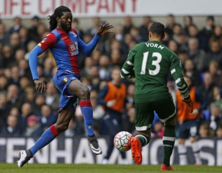 Adebayor - Crystal Palace