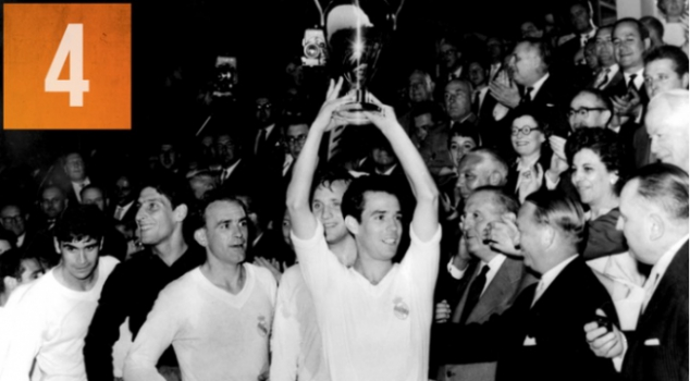 4. Real Madrid 1955-60