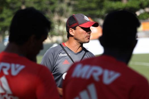 Treino Flamengo - Técnico Zé Ricardo
