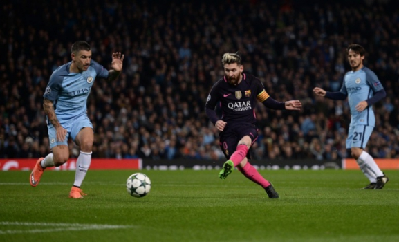 Messi - Manchester City x Barcelona