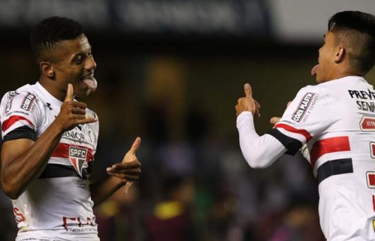 David Neres e Luiz Araújo - São Paulo
