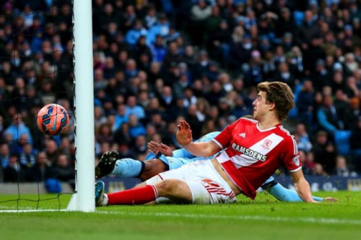 Manchester City 0 x 2 Middlesbrough - 2015