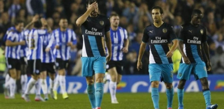 Sheffield Wednesday 3 X 0 Arsenal - 2015